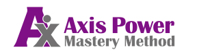 Axis Power Mastery Methodのロゴ